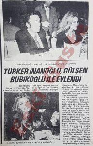 Türker İnanoğlu Gülşen Bubikoğlu