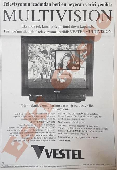 Vestel Televizyon reklamı
