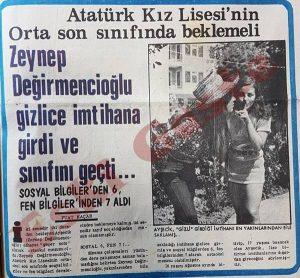 Zeynep Değirmencioğlu - Eski Fotoğraflar