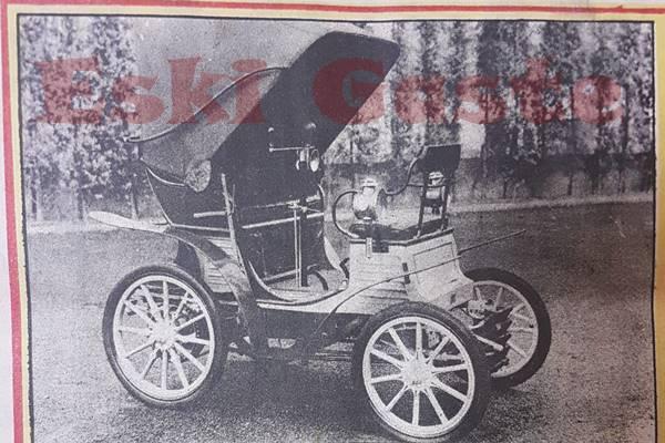 1899 model FIAT otomobil