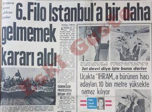 6. Filo İstanbul'a bir daha gelmeyecek