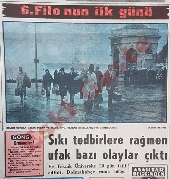 6. Filo İstanbul'da / Tercüman