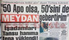 Alparslan Türkeş: 50 Apo olsa, 50'sini de gebertirim