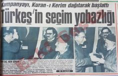 Alparslan Türkeş'in seçim yobazlığı