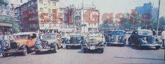 Antika otomobiller İstanbul'da yarıştı