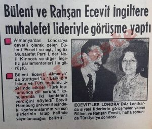 Bülent - Rahşan Ecevit