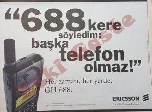 Ericsson 688-Reklamı
