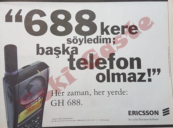 Ericsson 688 reklamı