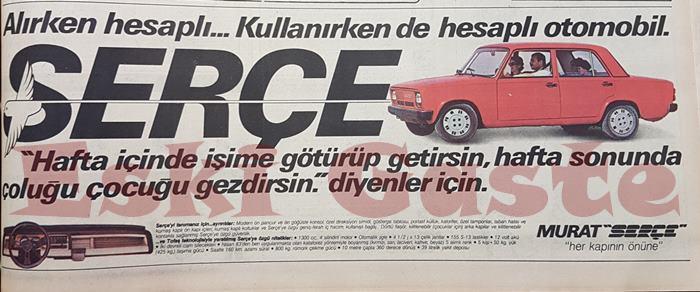 Serçe reklamı