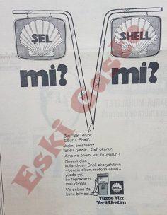 Shell reklamı