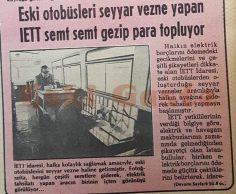 İETT'den seyyar tahsilat otobüsü