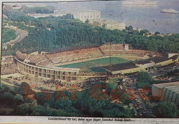 İnönü Stadı'nın büyümesi işi suya düştü