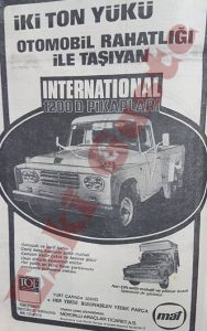 International 1200 D Reklamı