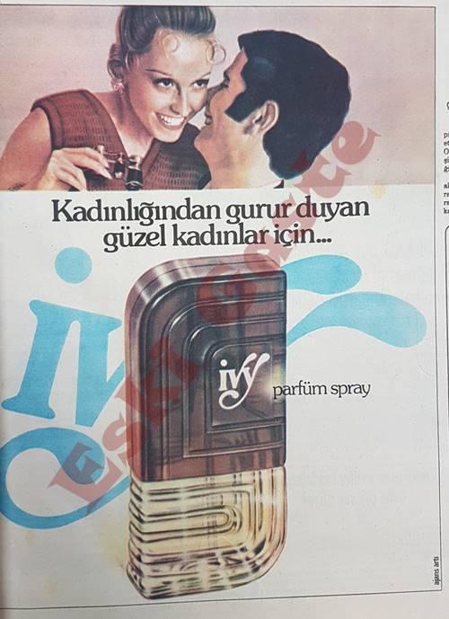 İvy parfüm reklamı