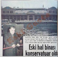 Kadıköy'de eski hal binası konservatuar oldu