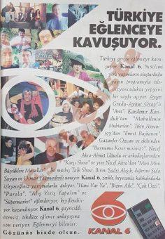 Kanal 6 reklamı
