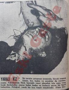 Kanlı Pazar - Yaralı bir genç kız
