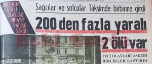 Kanlı Pazar - Tercüman Gazetesi