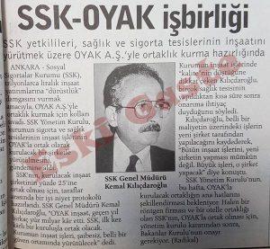 Kemal Kılıçdaroğlu - SSK