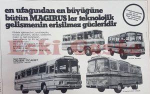 Magirus - Eski Reklamlar