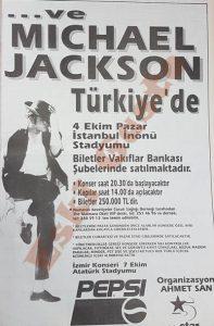 Michael Jackson İstanbul Konseri