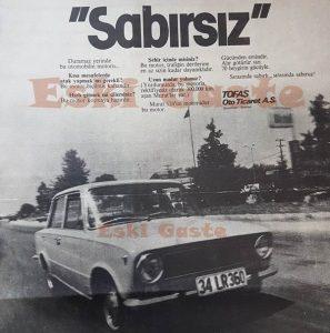 Murat 124 - Eski Reklamlar