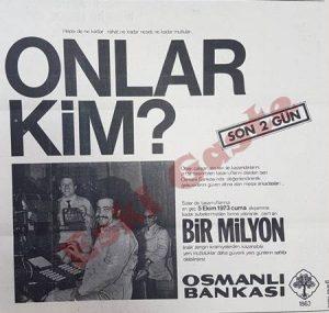 Osmanlı Bankası - Eski Reklamlar