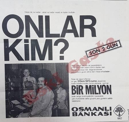 Osmanlı Bankası reklamı