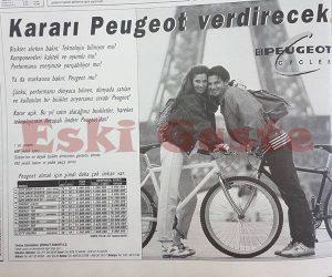 Peugeot Reklamı - Eski Reklamlar