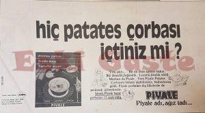 Piyale - Eski Reklamlar