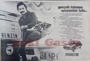 Renault 12 Eski Reklamlar
