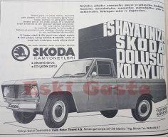 Skoda kamyonet reklamı