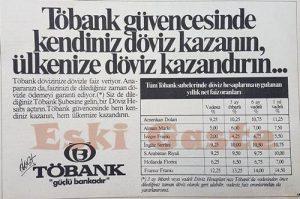 Töbank - Eski Reklamlar