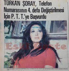 Türkan Şoray telefon numarasının 4. defa değiştirilmesi için PTT'ye başvurdu
