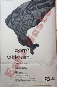 Vakko - Eski Reklamlar