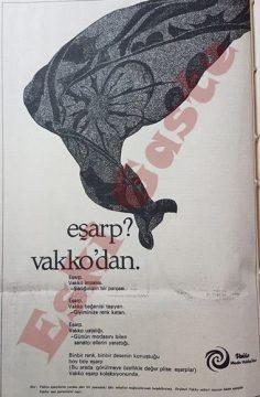 Vakko eşarp reklamı
