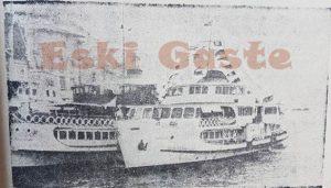 Vaniköy Vapuru - Eski Fotoğraflar