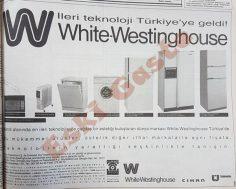 White – Westinghouse reklamı