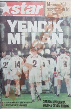 """""""Yendik mi lan"""" manşeti ve Galatasaray Milan maçı"""