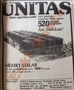 Yenibosna Yıldızkent reklamı