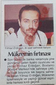 Yılmaz Erdoğan - Eski Fotoğraflar