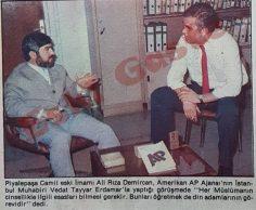 Associated Press Ali Rıza Demircan ile görüştü