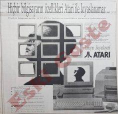 Hiçbir bilgisayarın özellikleri Atari ile kıyaslanamaz
