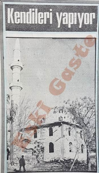 Ceyhan Tatarlı köyü camisini kendi yapıyor
