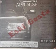 Daihatsu Applause reklamı