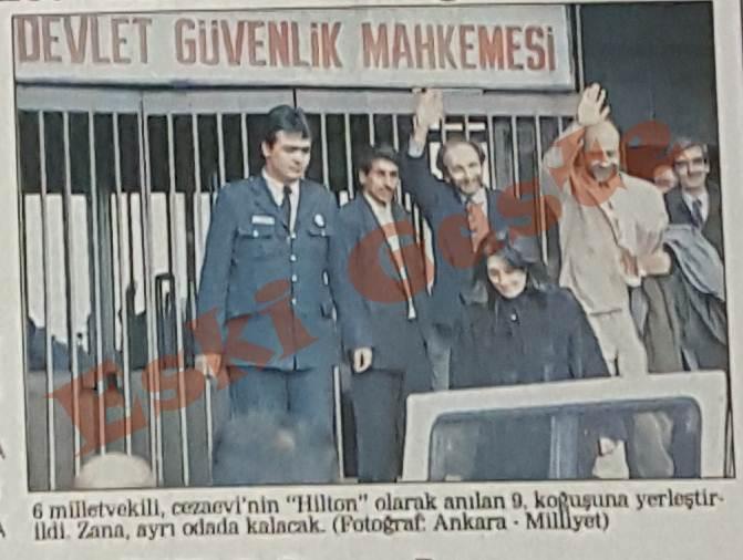DEP'li milletvekilleri DGM tarafından tutuklandı ile ilgili görsel sonucu
