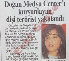 Doğan Medya Center'ı kurşunlayan dişi terörist yakalandı