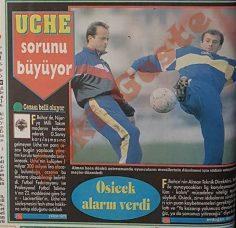 Fenerbahçe'de Uche sorunu büyüyor