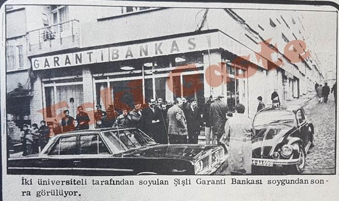 Garanti Bankası Şişli şubesi soyuldu