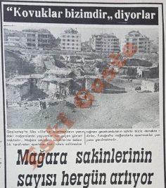 Gaziantep'te mağara sakinlerinin sayısı artıyor